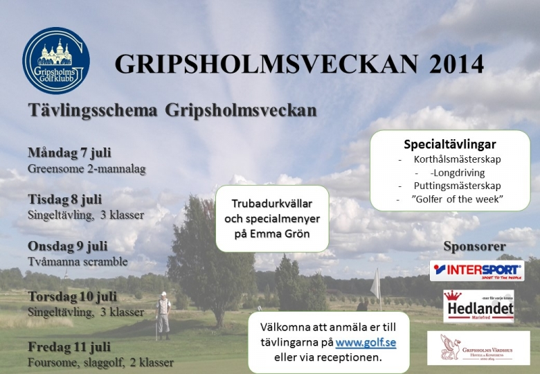 Program Gripsholmsveckan alt. 2
