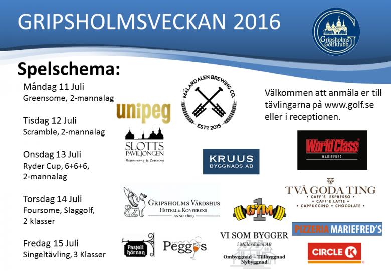 Gripsholmsveckan 2016S